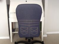 Two office / children's bedroom chairs
