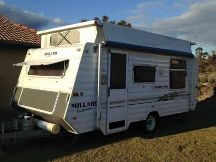 2003 17ft Millard Caravan double island bed excellent condition Bathurst Bathurst City Preview