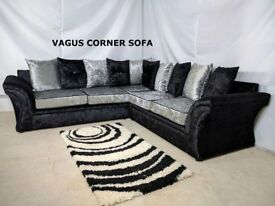Vagus Corner or 3+2 Seaters Sofa