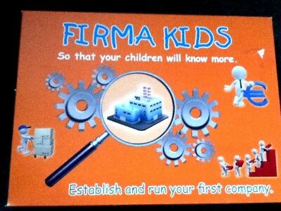 **Vintage Firma Kids, Establish and run your first company [Board Game]** for sale  Shipping to Nigeria