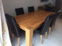 Dining table and chairs in great condition