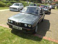 BMW E30 LHD Non Sunroof 316i M10 Manual