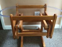 Mothercare gliding moses basket stand