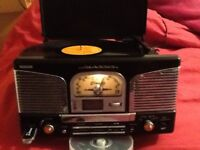 Watson Vintage Retro 50's record player