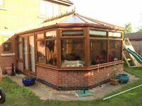 Conservatory 4m x 3.5m