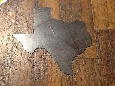 """Metal Texas 1/8"""" Carbon Steel Unfinished Western Southern Art Rustic Welding 11"""""""