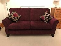 Matching sofas, 2 seater and 3 seater