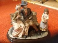 Old couple ornament