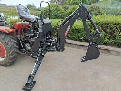 New Bhm5600 Backhoe Excavator Tractor Attachment Kubota Deere Pto Pump Tank