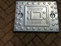 Standard manhole cover and base. Never used.