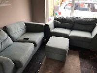 3 seater and two seater sofa bed needs an upholstery cleaner hence price