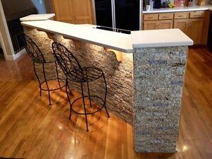 Granite Stone Veneer Tiles - Stunning 100% Recycled!