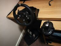 Logitech G920 Xbox & PC Racing Wheel, Pedals and Gearstick set