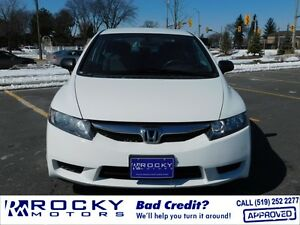 2010Honda Civic $10,995 PLUS TAX - MORE SEDANS @ ROCKYMOTORS.COM