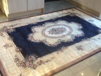 290cm x200cm-superb quality man-made silk(synthetic)k.thin,silky smooth,foldable,washable rug