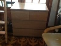 Chest of Drawers (Malm) Really Good Condition.