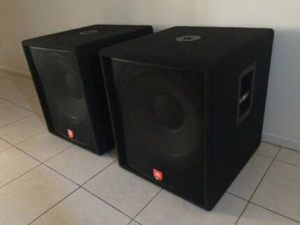 JBL JRX 18'' SUBWOOFERS $750 For The Pair Gympie Gympie Area Preview