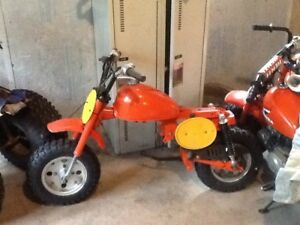 Partly restored Honda Z50
