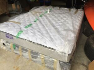 NEW!! Tempur Adjustable Bed with Mem Foam Mattress