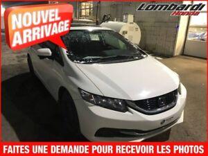 Honda Civic EX**LE PLUS ÉCONOMIQUE DE SA CATÉGORIE**