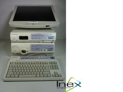 Olympus Evis Exera Ii Endoscopy Video Processor Cv-180 Clv-180 Lmd1950mdhd