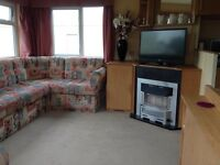 Seton sands haven park 2&3 bed Dog friendly caravans