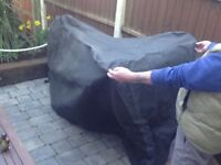 Motorbike cover breathable material