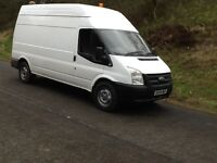 Van hire and driver from £15
