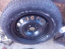 4 stud rim with dunlop tyre has around 90% tread Gungahlin Gungahlin Area Preview