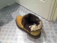 Ladies Timberland Boots, tan colour, size 5