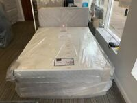 Clearance Sale 🔔 Double & King Size Bed With Mattress 🔔 Free Delivery