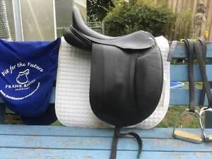 Frank Baines dressage saddle Burra Queanbeyan Area Preview