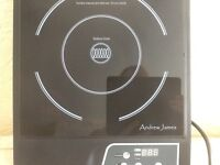 ANDREW JAMES INDUCTION HOB, QF DC2200, BOXED, IDEAL FOR CARAVANS, BOATS, SMALL KITCHENS