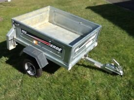 "Erde car trailer 3'6"" x 3'"
