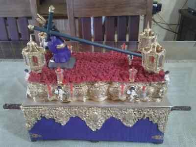 Playmobil custom paso de semana santa Padre Jesús Nazareno Hermandad Gitanos