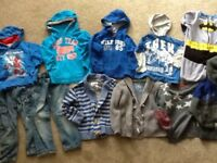 Boy aged 3-4 clothes bundle next and marks and spencers