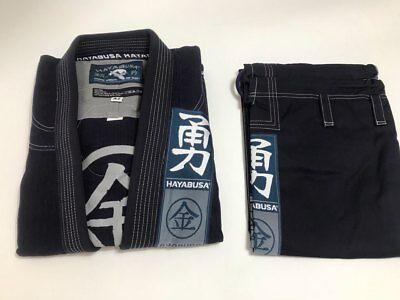 Jiuijtsu Bjj Gis A2 Jiu-Jitsu Uniform hayabusa style Preowned Brazilian DarkBlue