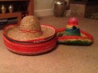 Mexican Sombreros and a Pinarta