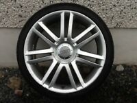 19INCH 5/112 AUDI S3 ALLOY WHEELS WITH TYRES FIT VW SEAT ETC