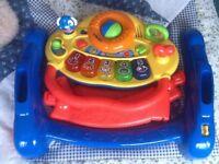 V-Tech baby walker& activity toy