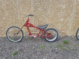 Boys Chopper Bike