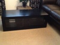 Black TV/Video Unit purchased from John Lewis
