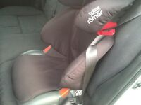 Britax junior car seat for sale- Quick Sell- only £25!