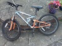 """kid's bike Apollo Fs20 16"""" wheels, used"""