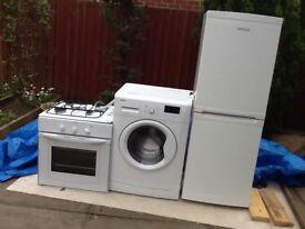 Washing machine, fridge/freezer and hob/oven for sale