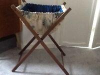 Vintage sewing/ knitting basket