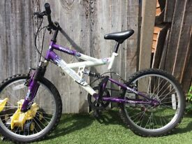 Girls Zinc Wave Bike, 20inch wheels, Age 7-9 years