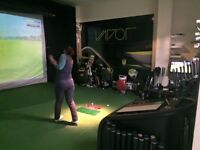 Pro Tee Golf Simulator for sale.