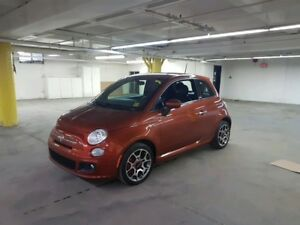 2014 Fiat 500 Sport FWD, 1.4L I4 MultiAir 16V Engine, 5-Speed...