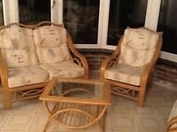 Immaculate Conservatory Furniture Set - Good as new